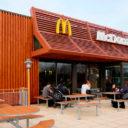 McDonald's Built Using Prefab Construction in the UK
