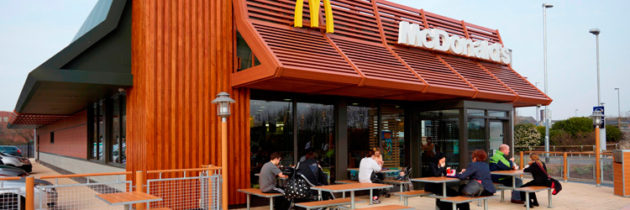 McDonald's Built Using Prefab Construction in the UK